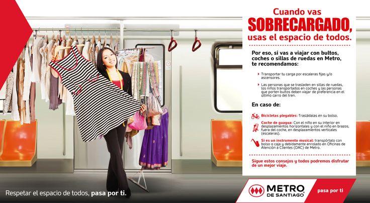 Metro: Campaña Bultos