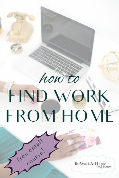 Is your work from home job search coming up empty? This free 7-day email series can help.