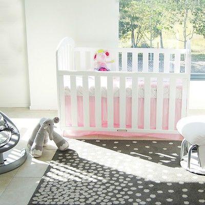 maya cot Brand new COT CRIB BABY TODDLE BED white[Without Mattress] ~$367 inc mattress