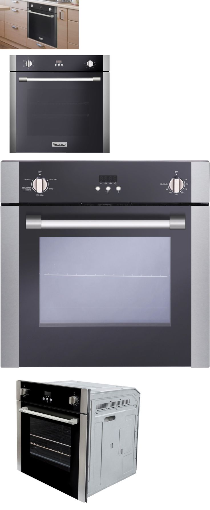 Wall Ovens 71318: Magic Chef Mcswoe24s 24 Electric Built In Single Wall Oven Stainless Steel -> BUY IT NOW ONLY: $749.18 on eBay!