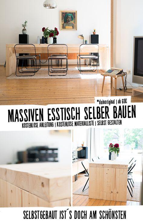 Tisch Bruno selber bauen - Tische in 2018 Haus Pinterest Home