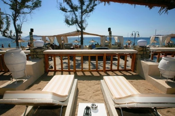 Sabbian beach bar,  Neos Marmaras, Sithonia
