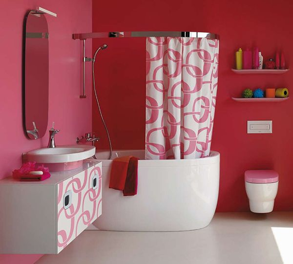 PINK BATHROOM- I don't care of Tony doesn't like it. I need a pink bathroom!!!!!!
