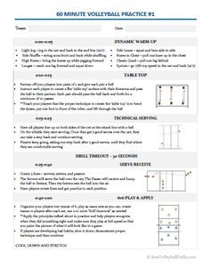 Essential Volleyball Practice Plans — BestVolleyballDrills