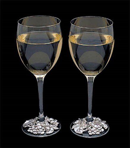 Arthur Court Grape Wine Glass, Set of 2