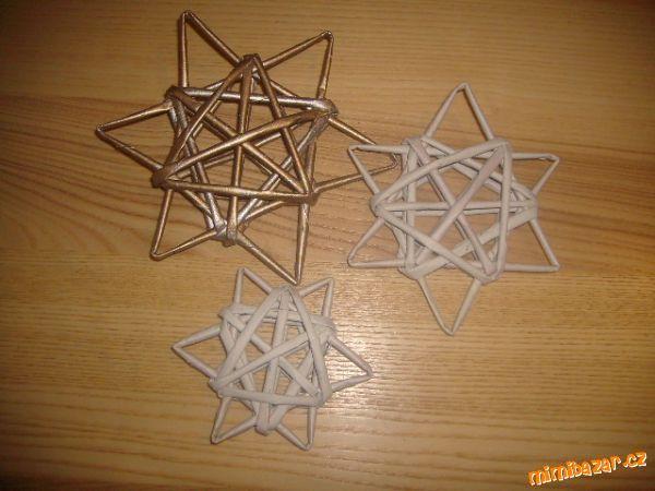 Hvězda z papíru jedním tahem