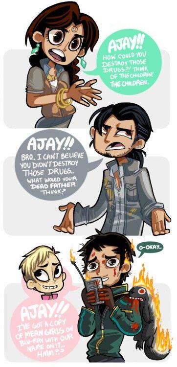 Far Cry 4 - Ajay's true friend