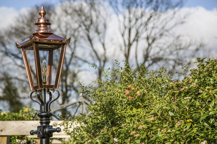Add a touch style to your garden, drive way and outdoor areas with Ornate Garden's authentic Victorian Copper Lanterns. Light your driveway or patio area; adding additional security while enhancing your garden. http://www.ornategardenlighting.com/  ‪#‎victorianlamposts‬ ‪#‎gardenlights‬