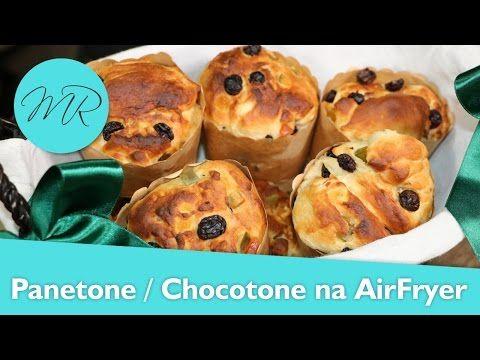 Panetone ou Chocotone na AirFryer / Fritadeira Sem Óleo - YouTube