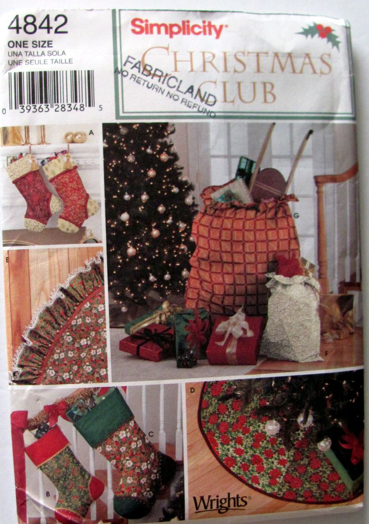 11 Best Christmas Craft Patterns Images On Pinterest