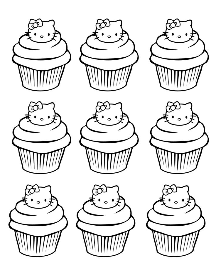 158 Best Images About Hello Kitty Coloring Pages On