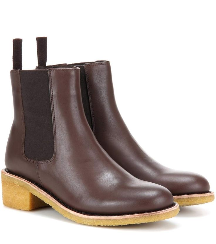 A.P.C. Leather Chelsea Boots. #a.p.c. #shoes #boots