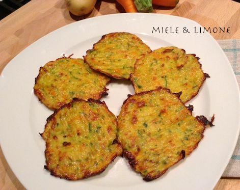 Frittelle di verdure - al forno o in padella