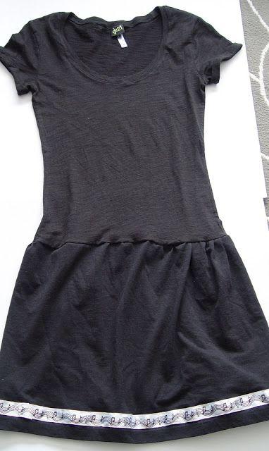 THE SEWING DORK: Teen T-Shirt Dress Tutorial