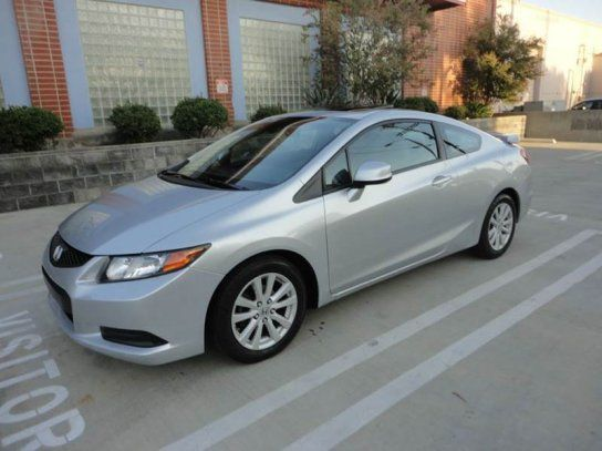 Coupe, 2012 Honda Civic EX Coupe with 2 Door in Van Nuys, CA (91406)