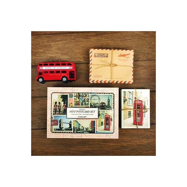Mini Postcard Set - London