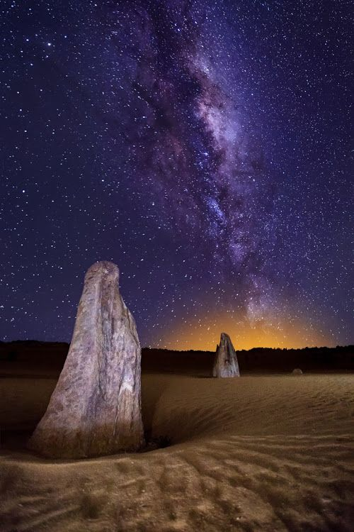 The Pinnacles, Nambung National Park, Western Australia – Amazing Pictures - Amazing Travel Pictures with Maps for All Around the World