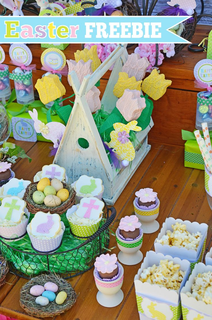 Easter FREE Printables Set from @Amanda's Parties TO GO