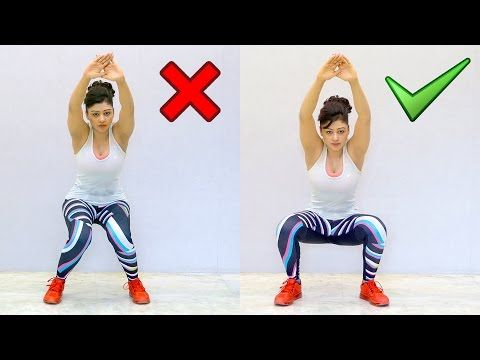 How to Do a Perfect Squat (Major Form Fix) - YouTube