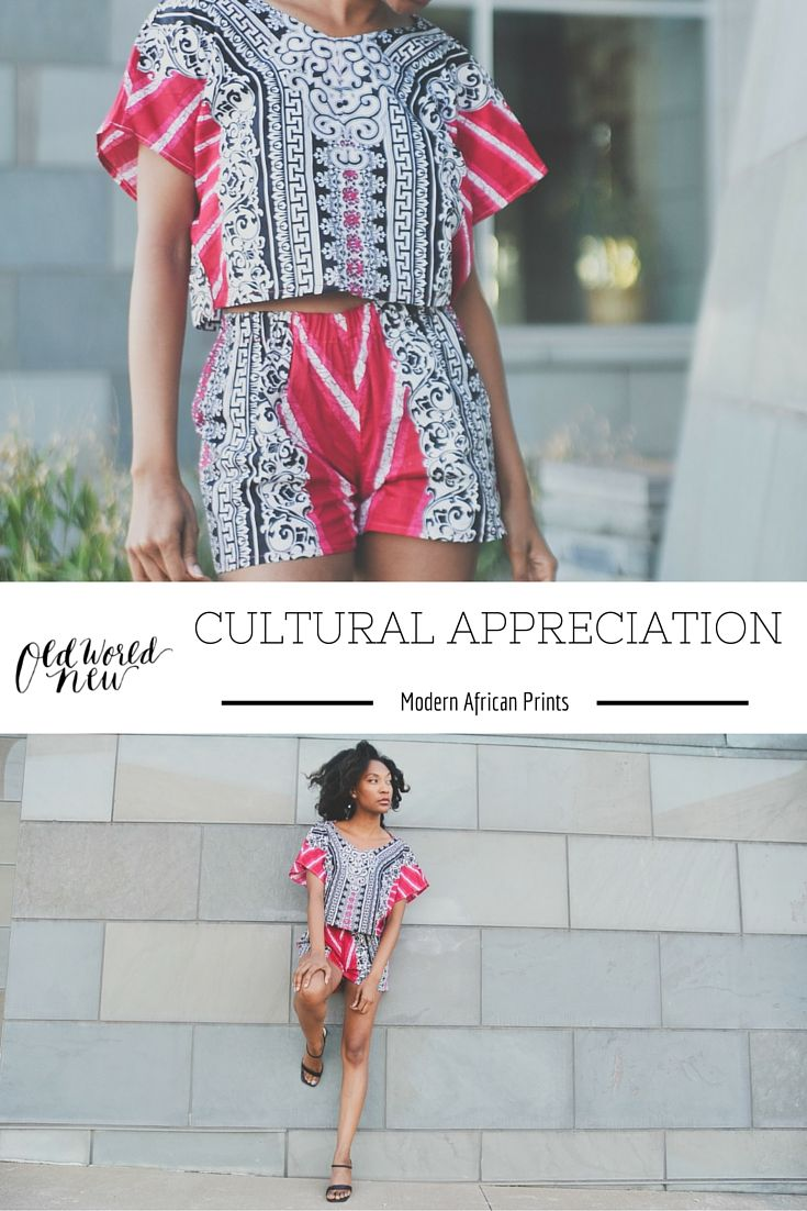 Modern African Fashion Style by Alero Jasmine via Old World New: Cultural Appreciation Style Series