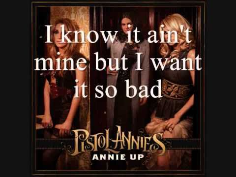Pistol Annies - I Feel A Sin Comin' On [Lyrics On Screen]~ For Little Miss Martha!! Weeeeeeeee!!