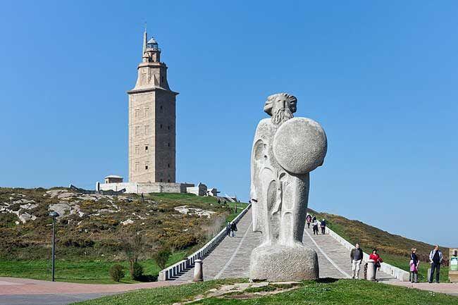 La leyenda de la Torre de Breogán o Torre de Hércules