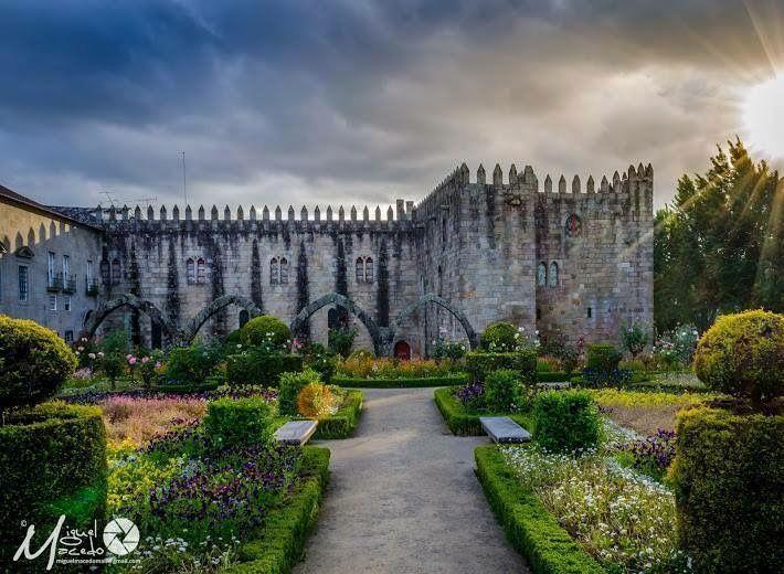 Jardim de Santa Bárbara, Braga, Portugal
