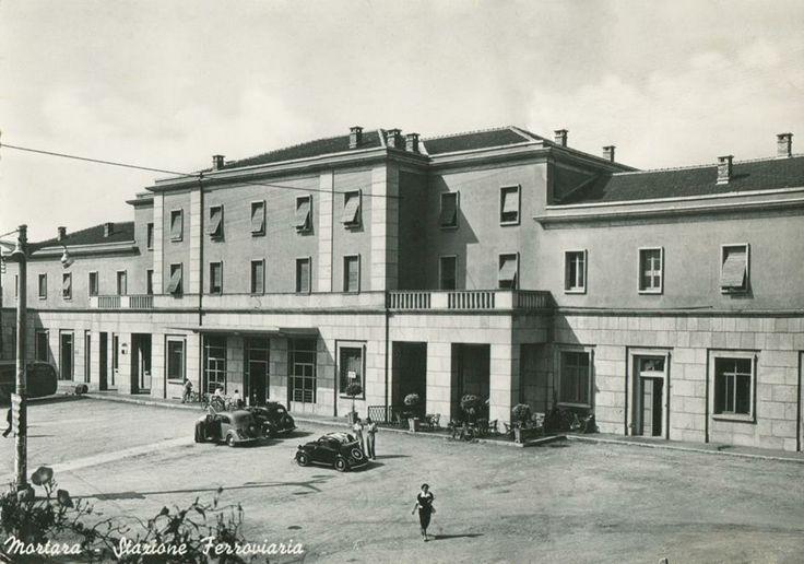 Stazione di Mortara, primi anni '50. #Lomellina #storia #tradizioni #turismo
