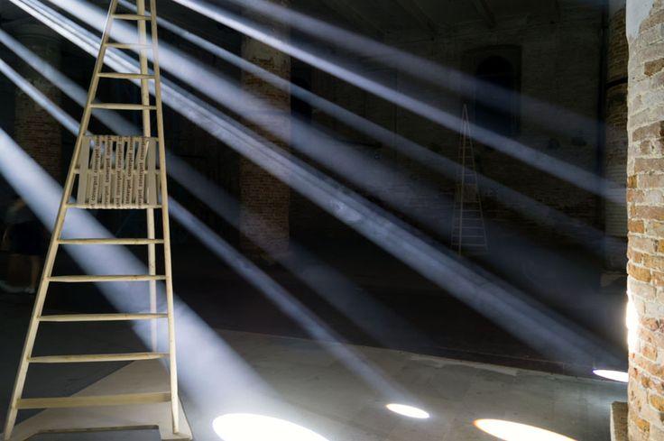 Venice Architecture Biennale 2016: Arsenale exhibition by Alejandro Aravena: Transsolar with Anja Thierfelder – Lightscapes . Local identity