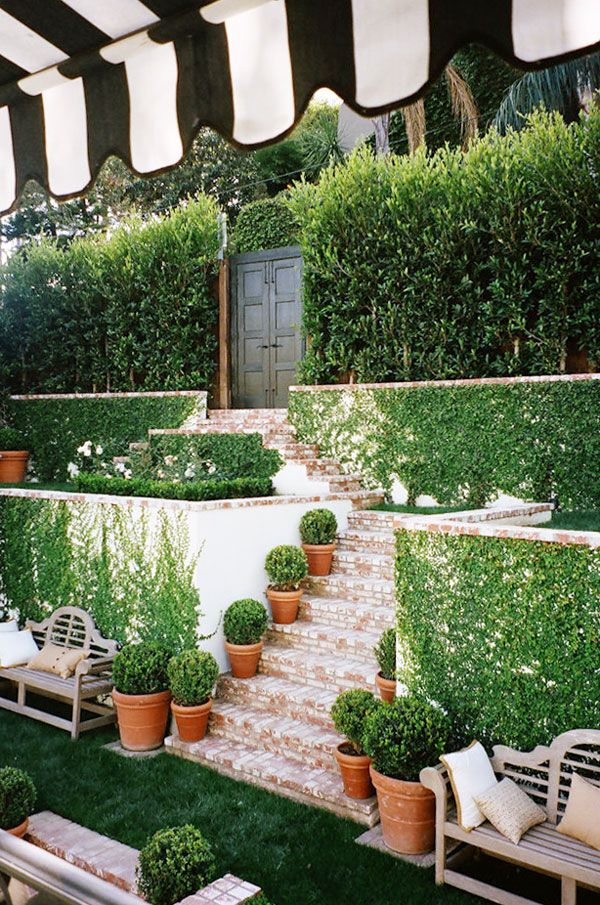 17 best images about garden places outdoor spaces on for Front yard courtyard design