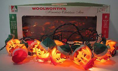 1960 Novelty Lighting : 1000+ images about Strings Of Vintage Christmas Lights on Pinterest Vintage christmas lights ...