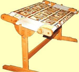 52 best Quilting frames images on Pinterest   Knitting tutorials ... : wooden quilt frame - Adamdwight.com