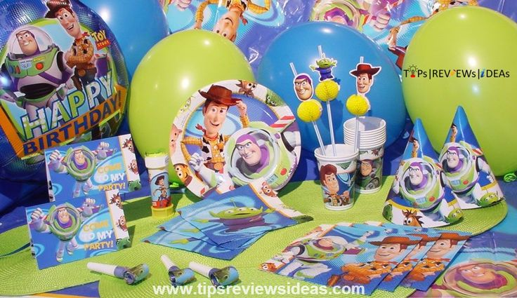 First Birthday Party Theme Toy Story