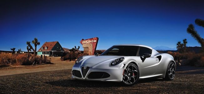 The Stunning New Alfa Romeo 4c Should Hit Showrooms Before