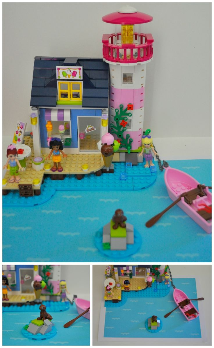 lego friends lighthouse instructions