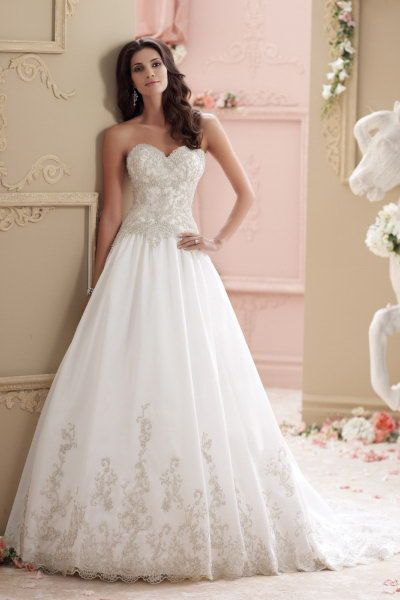 sale david tutera for mon cheri 115238 Wynter  price wedding dress elaborate hand-beaded and embroidered bodice