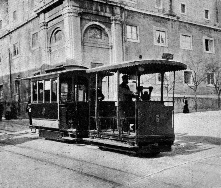 Ascensor da Estrela em S. Bento, 1909