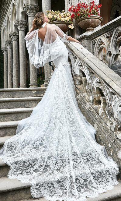 Featured Dress: Solo Merav; Wedding dress idea.