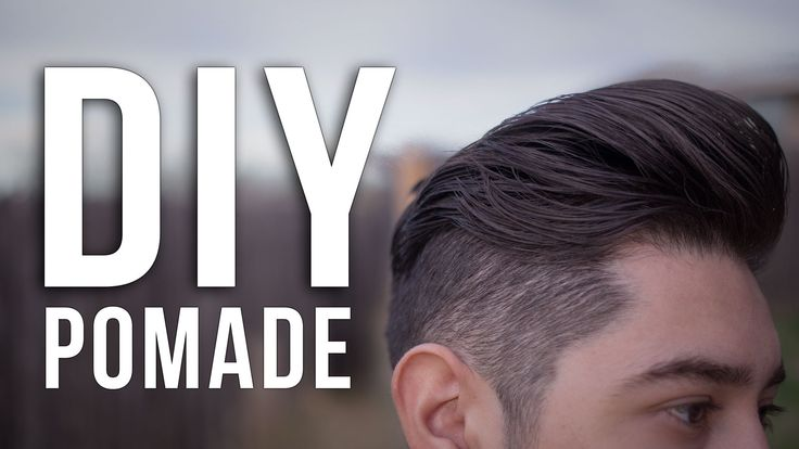 Here's how to make an ALL NATURAL wax-based pomade that rivals some of the stuff on the market!