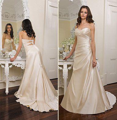 LOVE essence dresses!: Dresses Wedding, Wedding Dressses, Dreams Wedding Dresses, Colors Wedding Dresses, Dresses Design, Dreams Dresses, The Dresses, Champagne Colors, Wedding Dresses Style