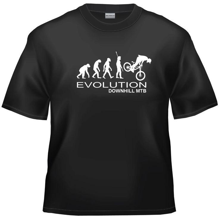 Evolution Downhill MTB (mountain bike) t-shirt