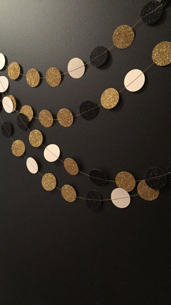 Great Gatsby Party Garland Party Decorations by paperfeathery