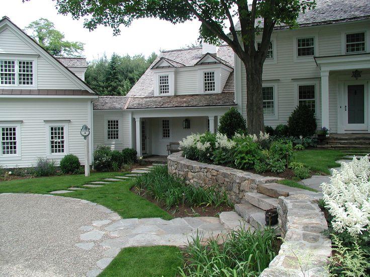 Garden Design New England westport+new+england+garden_p9+front+view+two+ | rock wall