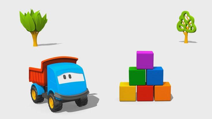 Cartoni Animati per Bambini: Leo il Camion Curioso e la Torre di Costruz...