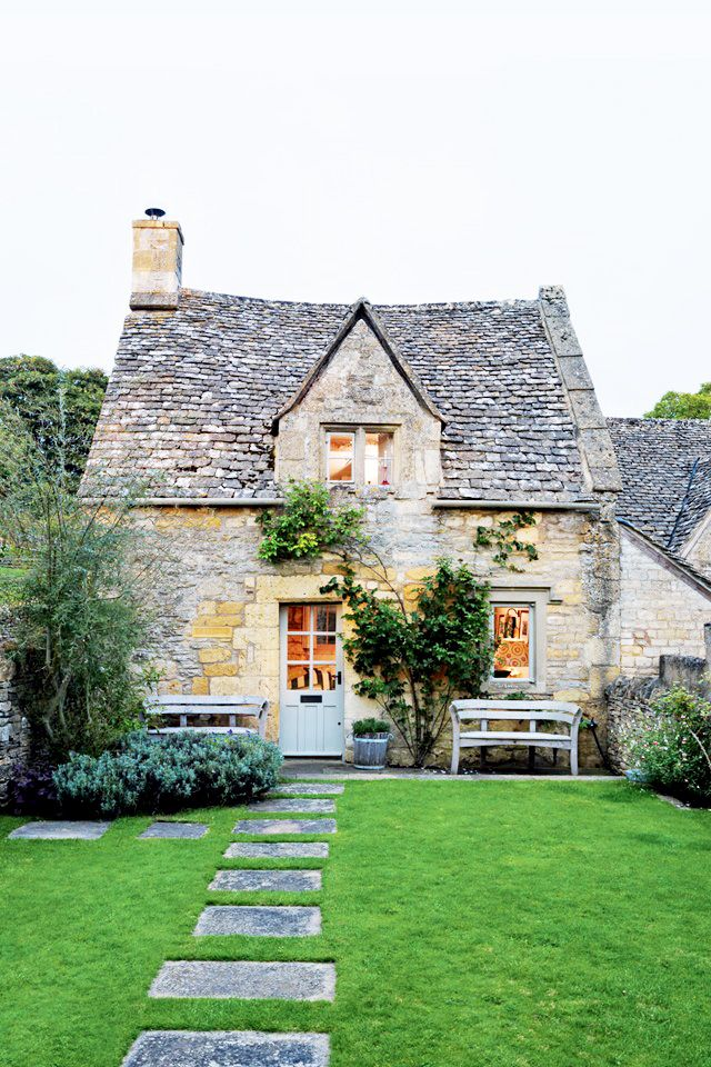 Exterior of charming cottage
