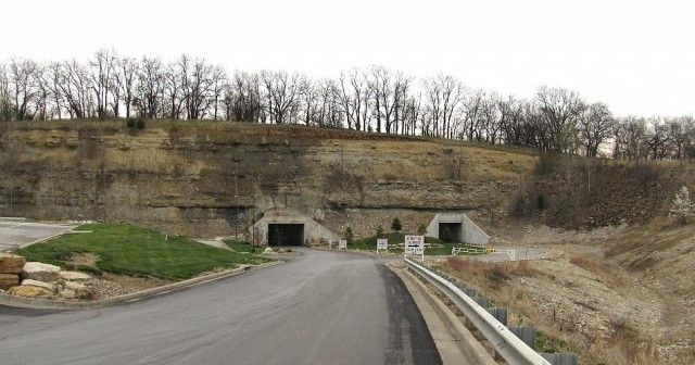 The National Archives and Records Administration's Federal Records Centers (FRC) program safeguards the federal government's records, including tax returns, official military records, blueprints of federal buildings and other structures, passport applications, inmate files on federal prisoners, maps of national parks and much more. Some of those records are kept in massive underground facilities like this one in Lenexa, Kansas.