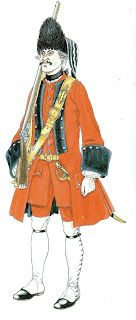 Grenadier Guards Regiment of Our Lord 1730 - 1760