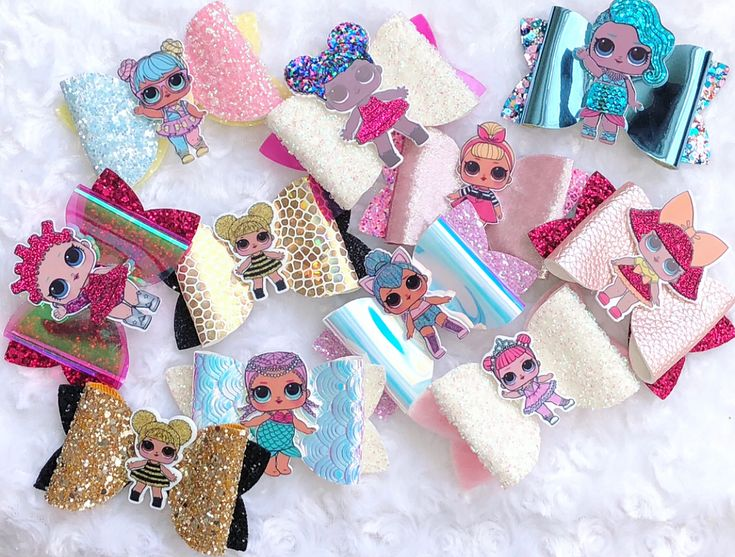 LOL surprise doll bows has arrived at @glitterbowsrus  #LOLdolls #lolsurprise #lolgirls #loldolls #bee #mermaid #princess #ballerina #catgirl #bows #rockstar #candy #popstar #dolls #girls #hairaccessories