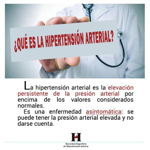 Que es la HTA - Hipertension arterial, Presion arterial..