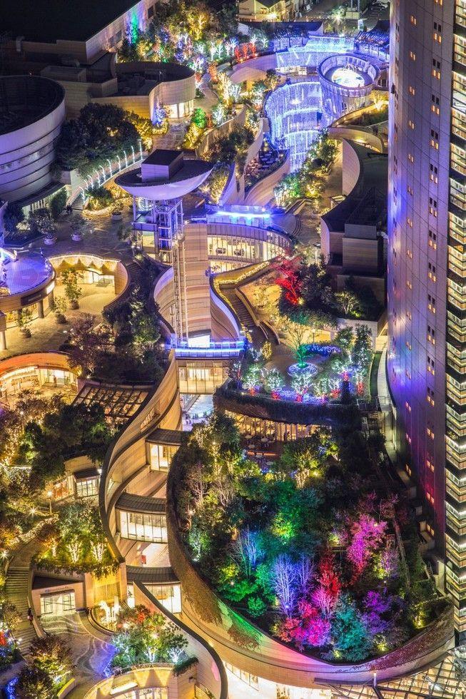 Namba Parks - Osaka, Japan 大阪 なんばパークス